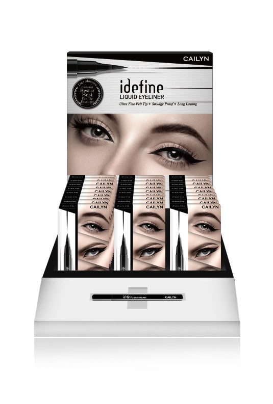 IDEFINE LIQUID EYELINER DISPLAY SET