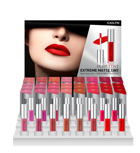 PURE LUST EXTREME MATTE TINT 16 SHADES DISPLAY SET