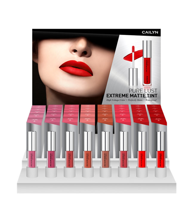 PURE LUST EXTREME MATTE TINT 8 SHADES DISPLAY SET