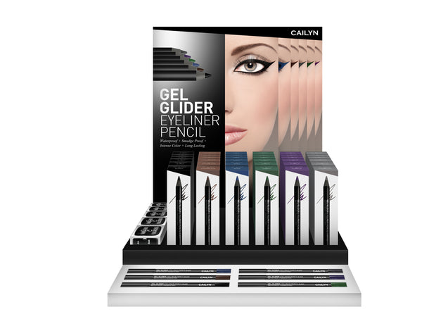 GEL GLIDER EYELINER PENCIL DISPLAY SET