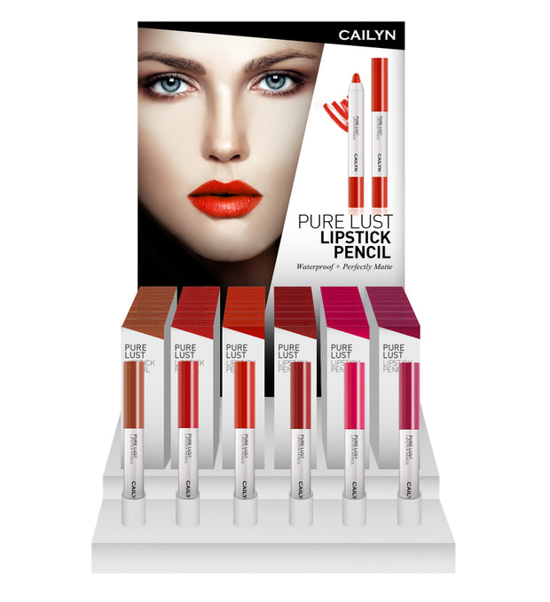 PURE LUST LIPSTICK PENCIL DISPLAY SET