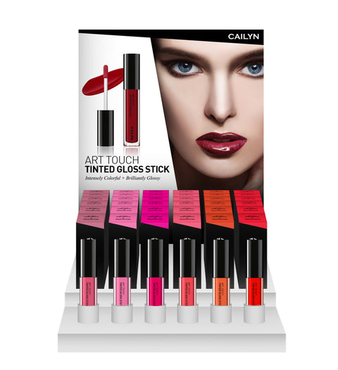 ART TOUCH TINTED GLOSS STICK DISPLAY