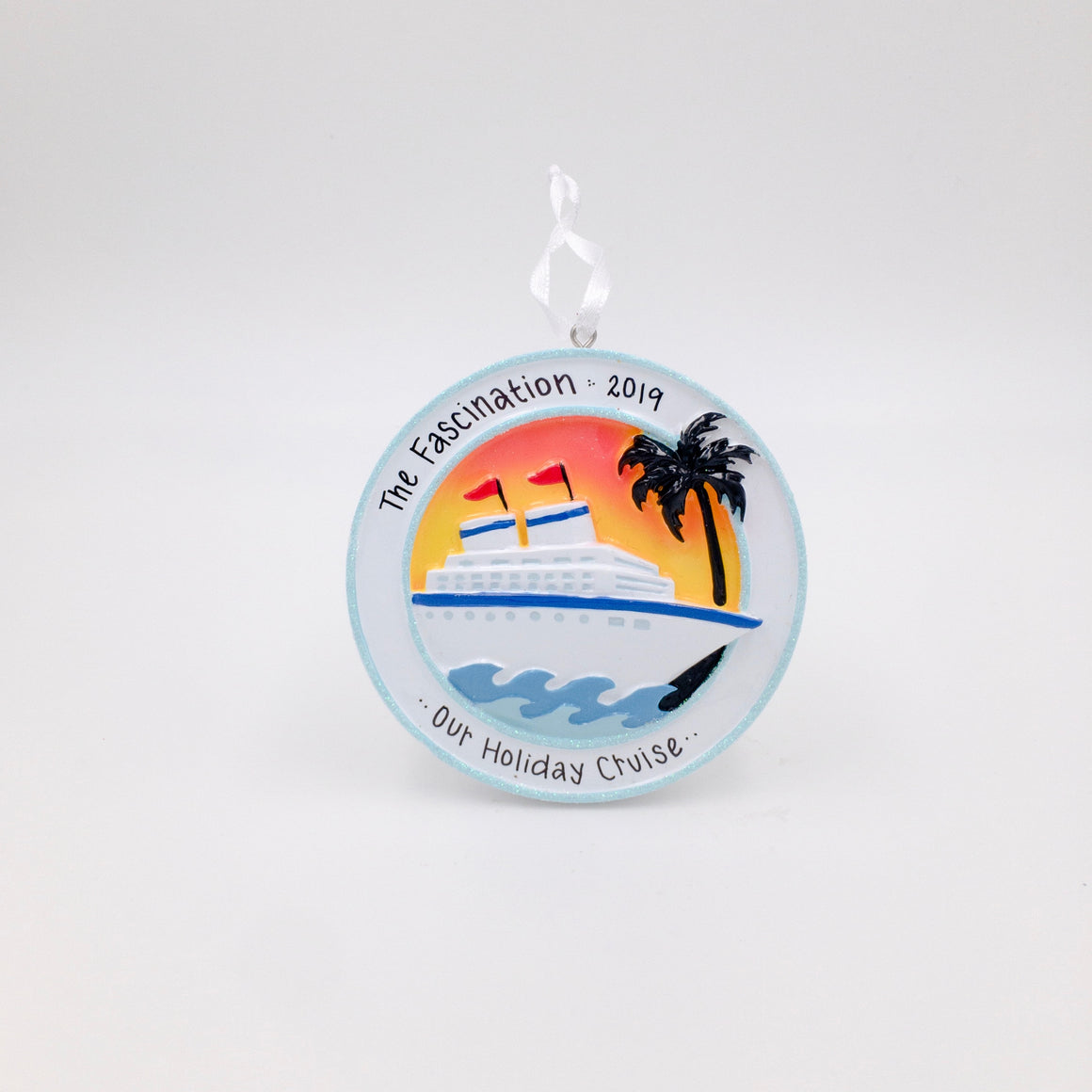 Cruise Ship Personalized Christmas Ornament / Cruise Ornament