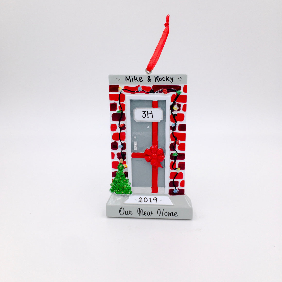 Our New Home Personalized Christmas Ornament / Brick House Ornament / New Home