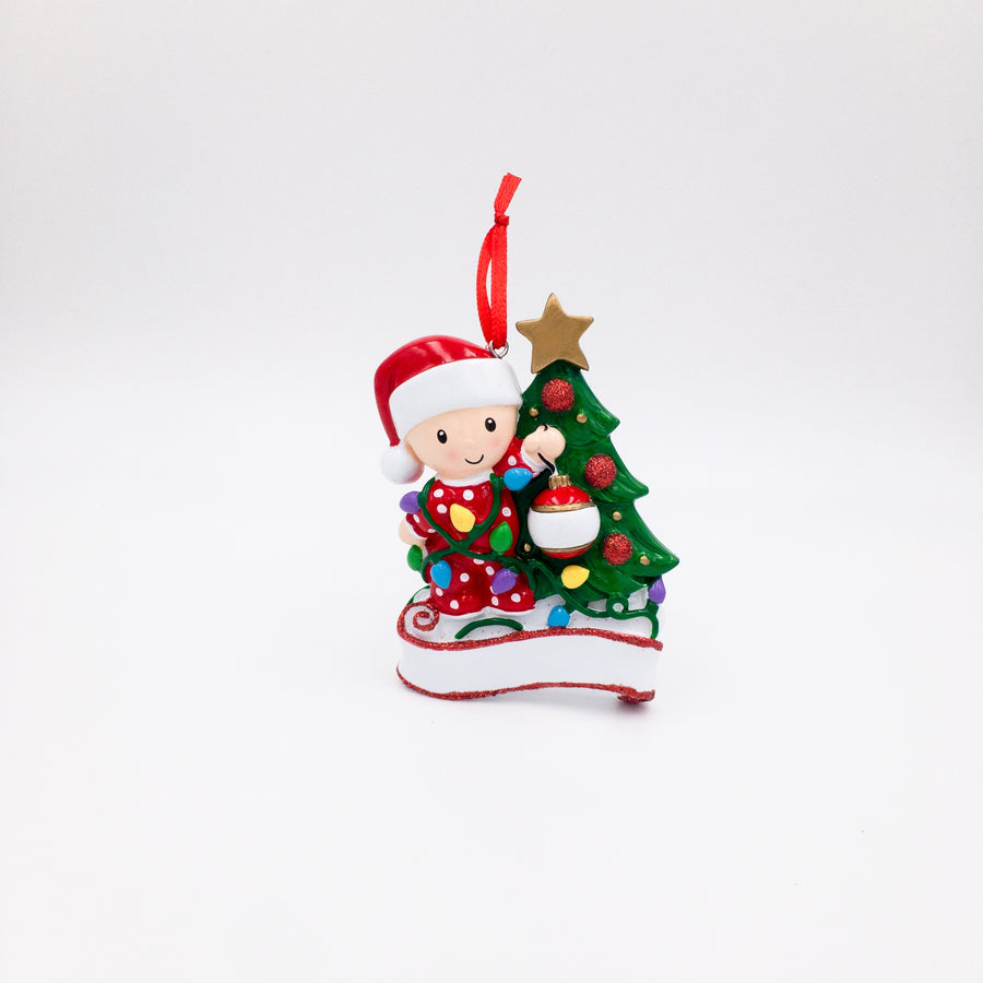Baby's First Christmas Personalized Ornament / Child Christmas Ornament