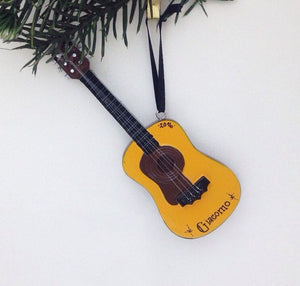 Guitar Personalized Christmas Ornament / Guitar Ornament / Music Ornament / Personalized Ornament