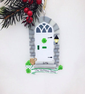 Irish Door Personalized Christmas Ornament / Irish Door Ornament / Bless This Irish House