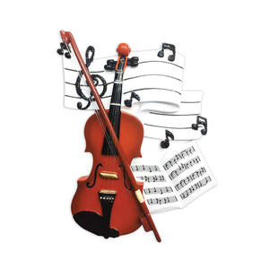Violin Personalized Christmas Ornament / Music Ornament / Violinist / Musician / Orchestra / String Quartet / Personalized