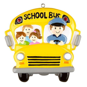 School Bus Driver Personalized Christmas Ornament / Child Ornament / School / Gift for kids
