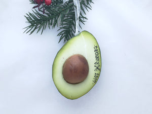 Avocado  Personalized Christmas Ornament / Avocado Lover
