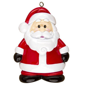 Santa Personalized Christmas Ornament / Toddler Ornament / Child Ornament
