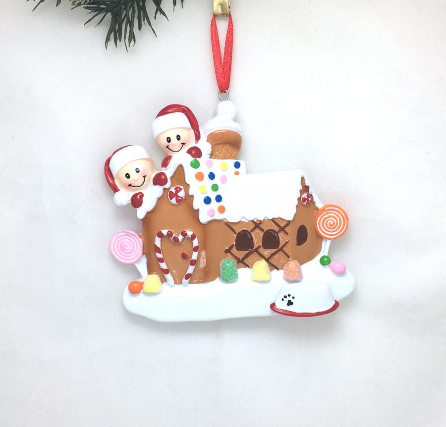 "Dog Bowl ""Add On"" Ornament / Add Your Dog to Your Family Ornament / Add a Pet"