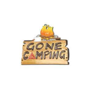 Gone Camping Personalized Christmas Ornament / Camping ornament / Travel Ornament / Personalized Ornament / Hiking