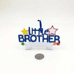 Little Brother Personalized Christmas Ornament