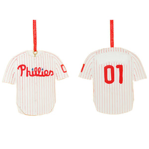 Personalized Philadelphia Phillies Christmas Ornament / Phillies Jersey Ornament / Baseball ornament