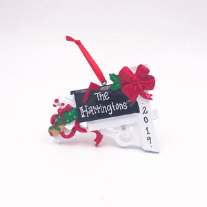 Mailbox Personalized Christmas Ornament / Christmas Mail Ornament