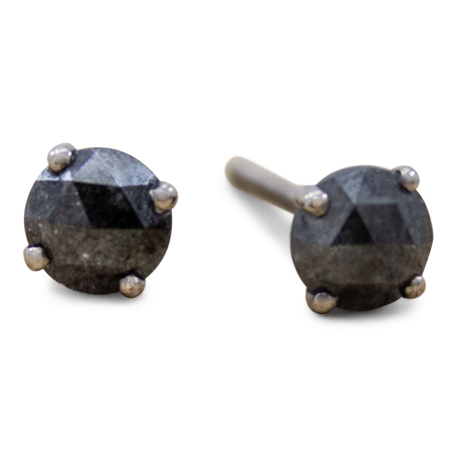 Sophia Perez Jewellery Earrings Black Diamond Studs