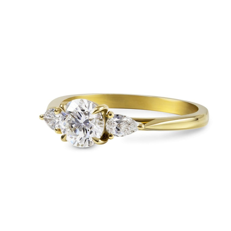 Sophia Perez Jewellery Engagement Ring Diamond Trilogy Engagement Ring