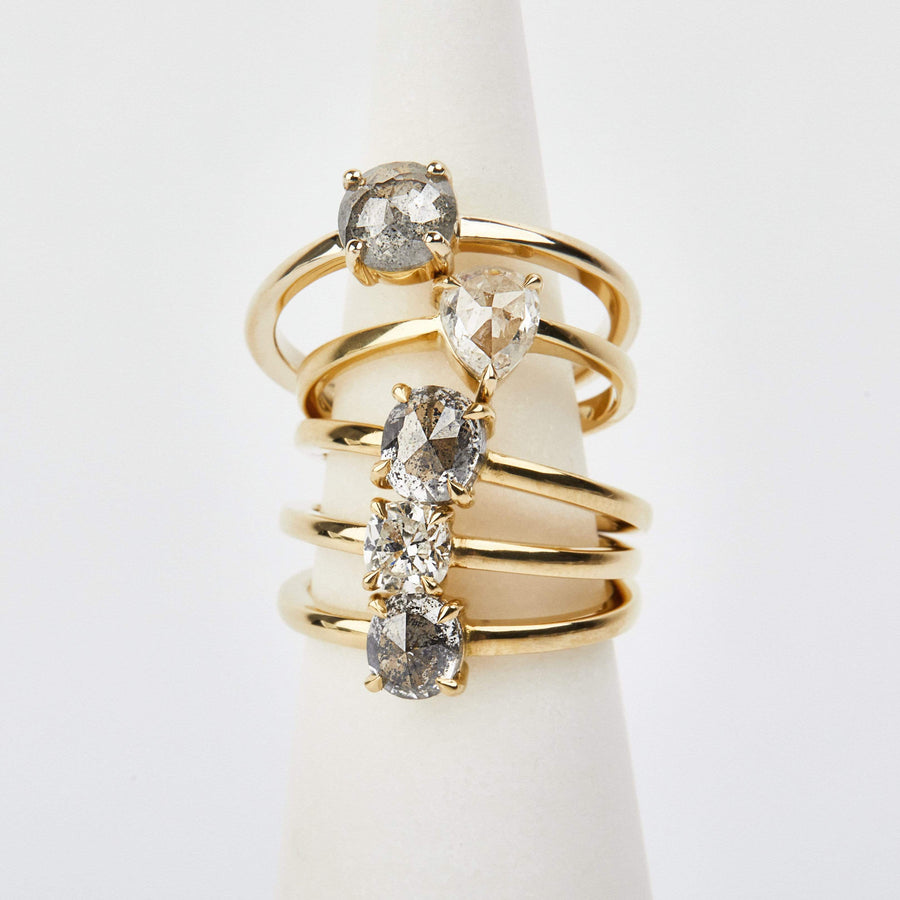 Sophia Perez Jewellery Rings Pear Diamond Promise Ring