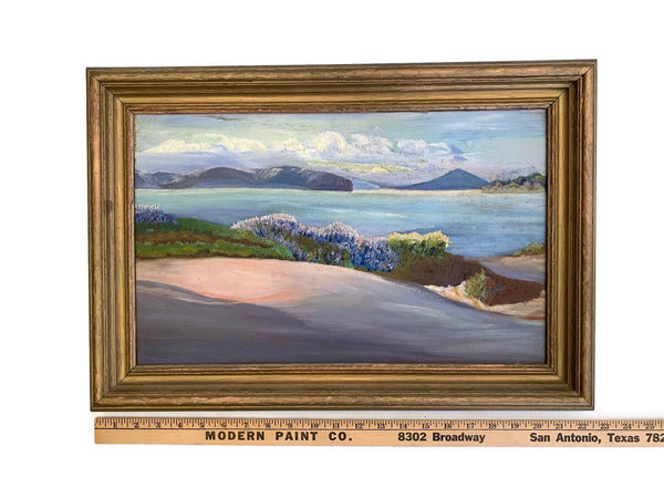Antique Waterscape Painting- Unsigned