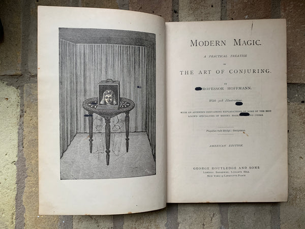 Modern Magic, A Practical Treatise on the Art of Conjuring, c.1880 by Professor Hoffmann