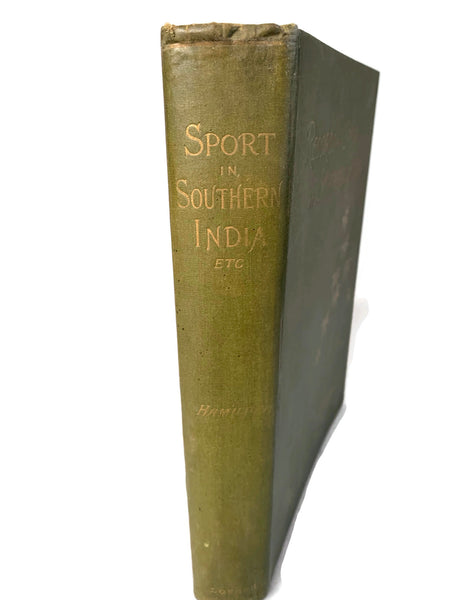 Records of Sport in Southern India c. 1892
