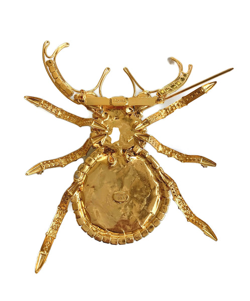 Chris Crouch Moans Couture Beetle Brooch