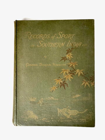 Records of Sport in Southern India, c 1892