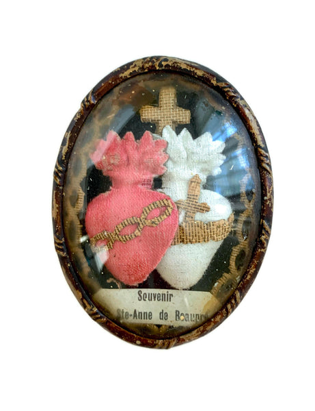 Antique French Reliquary Souvenir