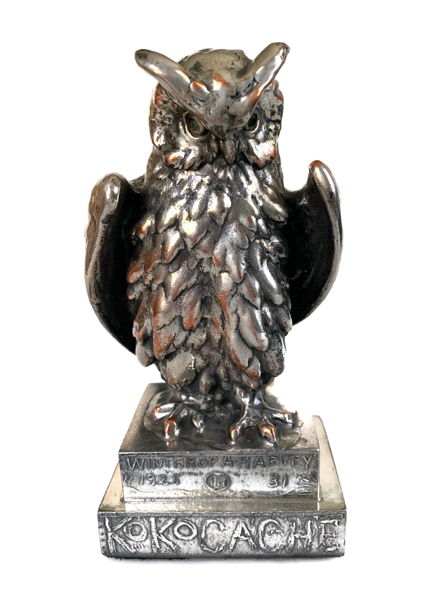 """Koko Cache"" owl trophy from 1925"