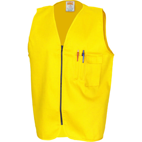 Patron Saint Flame Retardant Drill ARC Rated Safety Vest DNC 3403