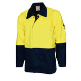Patron Saint® Flame Retardant Two Tone Drill Welder's Jacket DNC 3431