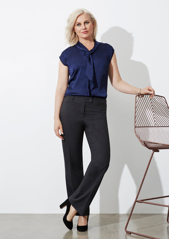 BS29320 - Ladies Classic Flat Front Pant Biz Collection
