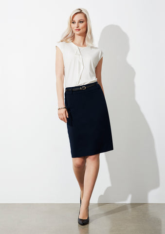 BS734L - Ladies Loren Skirt Biz Collection