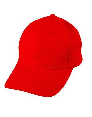 CH01 - Heavy Brushed Cotton Structured Cap Winning Spirit