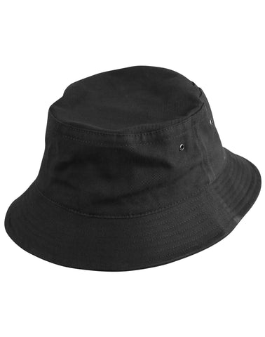 Heavy brushed cotton bucket hat CH29