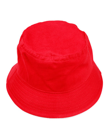 CH31 - Heavy brushed Cottoncontrast sandwich bucket hat Winning Spirit