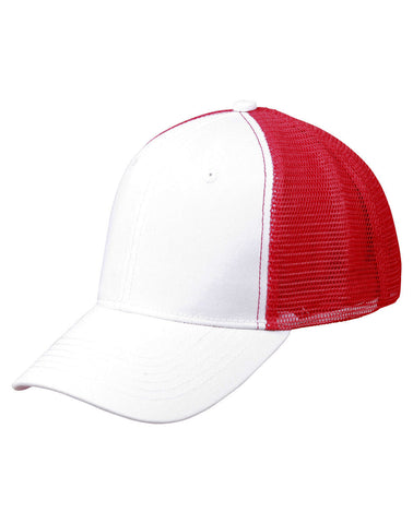 CH89 - Premium Cotton Trucker Cap Winning Spirit