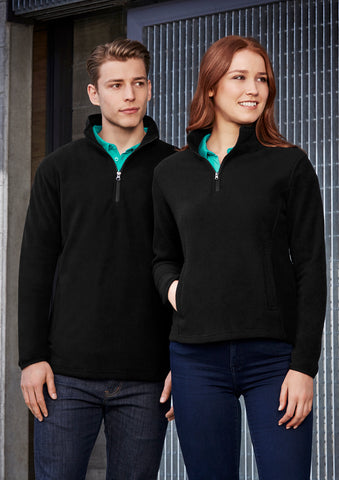F10520 - Ladies Trinity 1/2 Zip Pullover Biz Collection