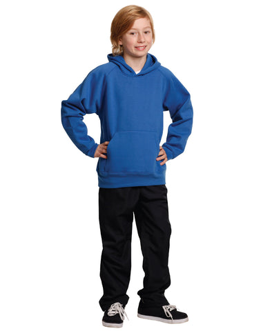 FL07K - Kids Close Front Fleecy Hoodie Winning Spirit