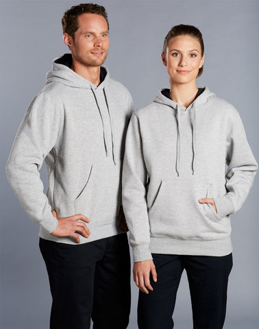 FL09 - Unisex Close Front Fleecy Hoodie Winning Spirit