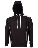 Adults' Close Front Contrast Fleece Hoodie FL19