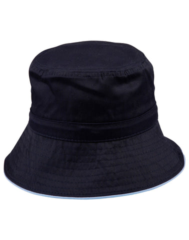 H1033 - Bucket Hat With Sandwich & Toggle Winning Spirit