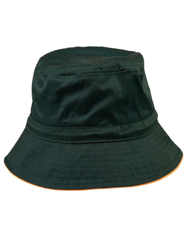 Bucket Hat With Sandwich & Toggle H1033