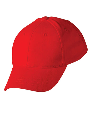 H1055 - Kids Heavy Brushed Cotton Cap Winning Spirit