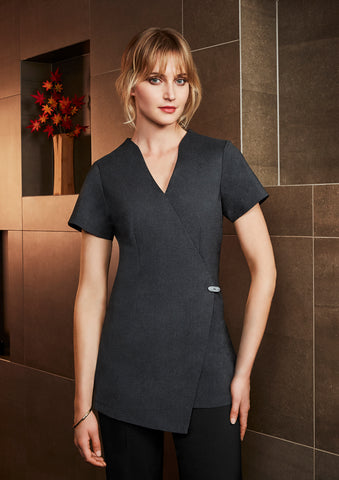H630L - Ladies Spa Tunic Biz Collection