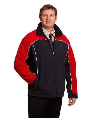 JK22 - Mens Tri-Colour Contrast Reversible Jacket Winning Spirit