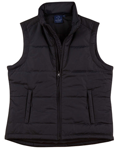Ladies Nylon Ripstop Padded Vest JK30