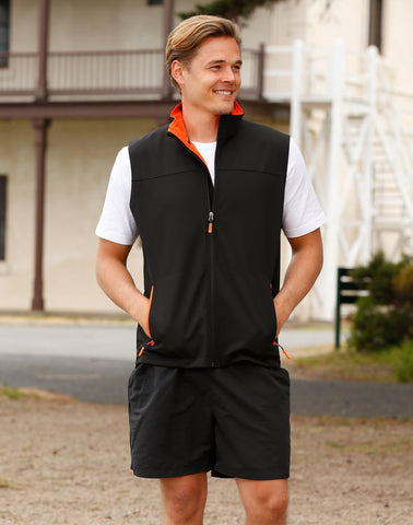 JK45 - Mens SoftshellTM Sports Vest Winning Spirit