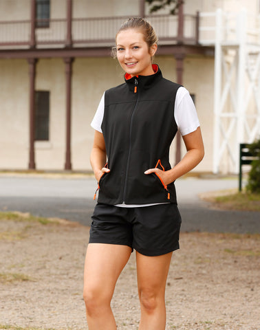 JK46 - Ladies SoftshellTM Sports Vest Winning Spirit